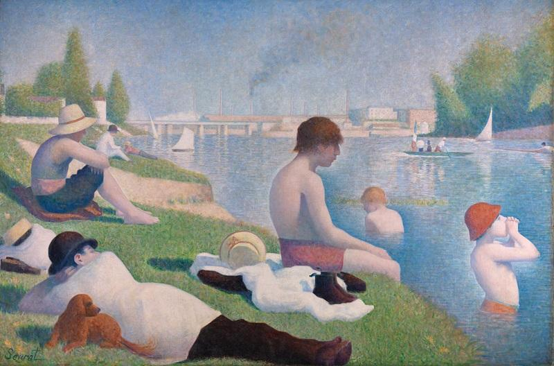 Our starting point was this Seurat painting