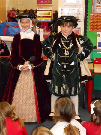 Tudor day with Partake Theatre