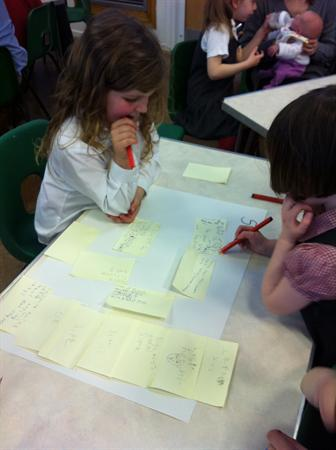 Class 2 Parent Share Writing using SCEM