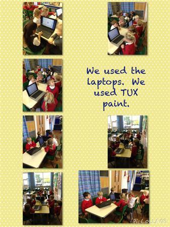 Foundation using the laptops