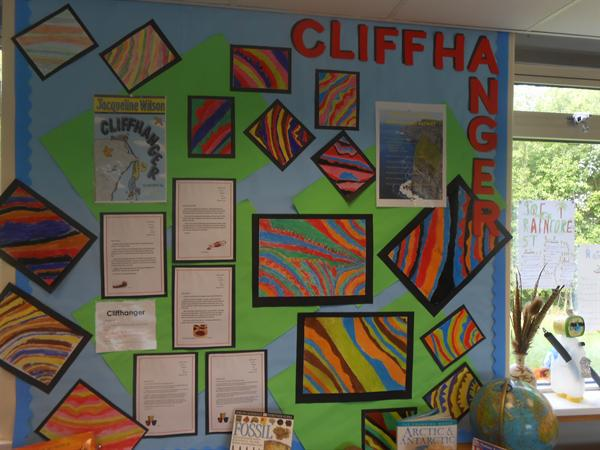 Art in Class 4 linked to topic