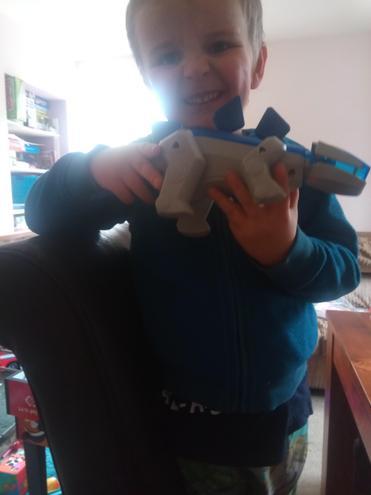 A Robotic Dinosaur of course !