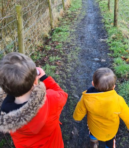 'We're Going on a Bear Hunt'.