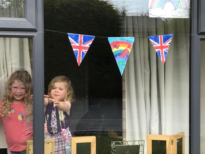 Love the colourful bunting you have made.