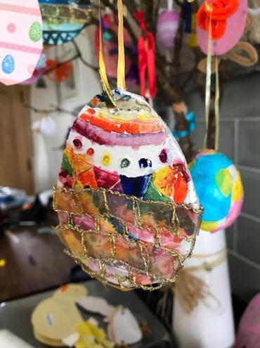 Easter Treasure...fabulous crafting.