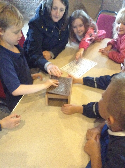 In the afternoon we explored some old objects.