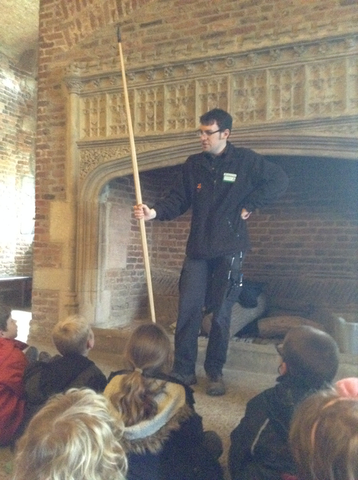 Paul showed us a long bow.