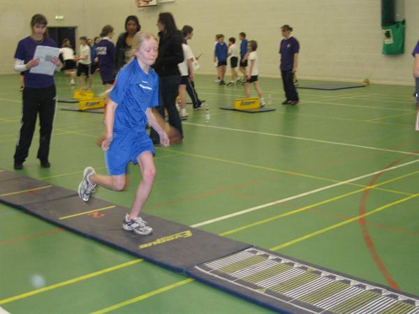 Sportshall Athletics County Comp at Derby
