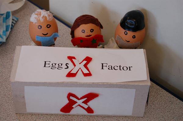 Easter Activity day - The Eggs X Factor