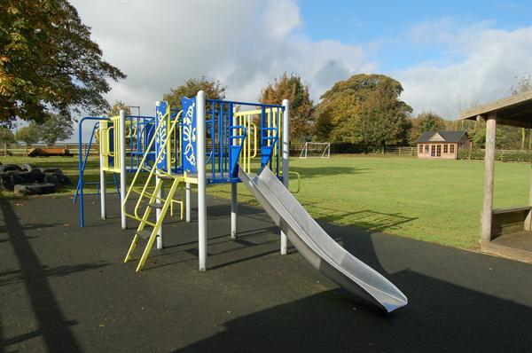 The Climbing Frame and Safety Surface