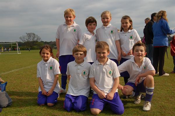 Yr3 & 4 Football Team