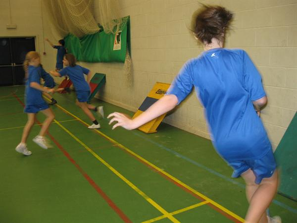 Sportshall Athletics-QEGS and County Comp at Derby