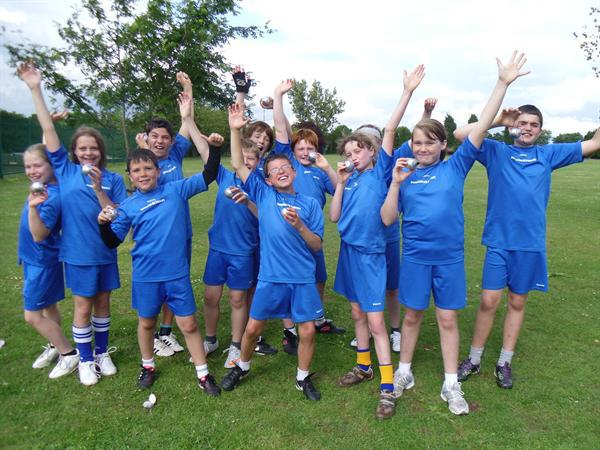 National Rounders Runners-up
