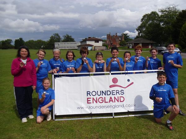 Osmaston Rounders National Runners Up