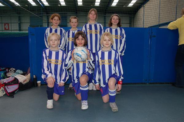 Girls footbal tournament in Derby