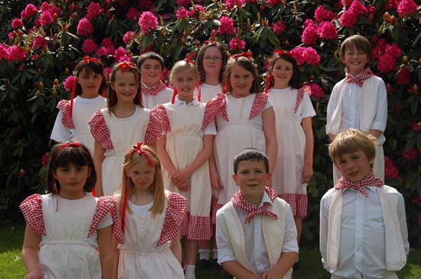 Class 4 at Yeldersley Hall Open Gardens