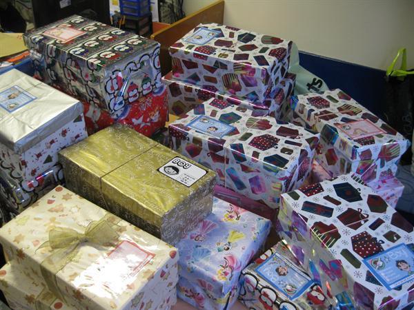 Operation Christmas Child - Shoebox Appeal 2013