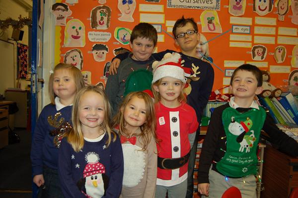 Christmas Jumper Day £102 for Save The Children