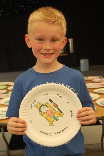 Design a Plate Competition - younger children.