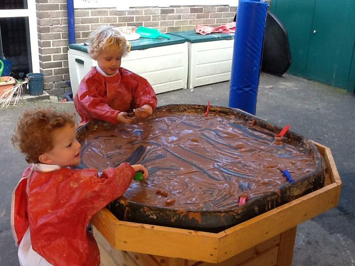 Counting the pigs stuck in the mud!