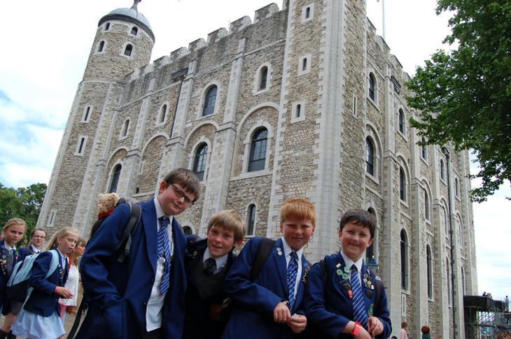 Off to The Tower of London.