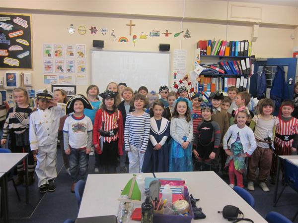 We dressed up to raise money for the RNLI