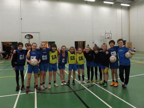 Y5/6 Netball Cluster Comp