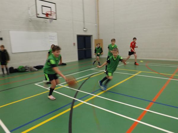 Year 5 & 6 Basketball at QEGS Jan 17