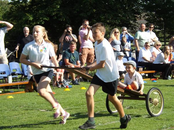 The Chariot Race  Sports Day