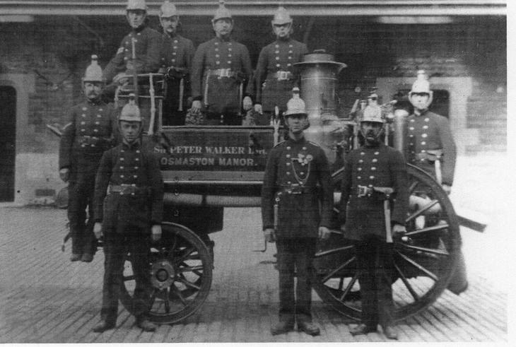 Osmaston Manor Fire Brigade Circa 1880