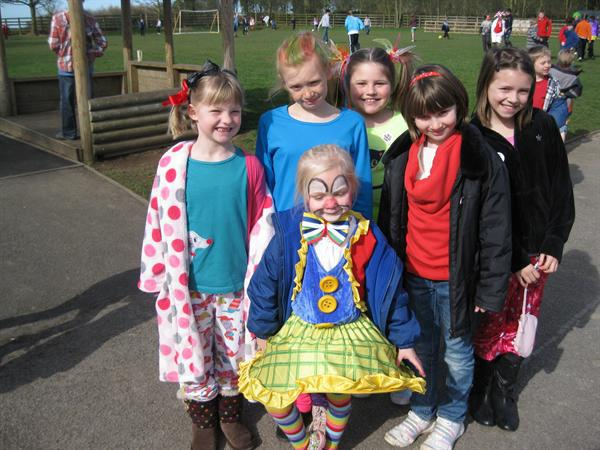 We all dressed bonkers and raised lots of money!