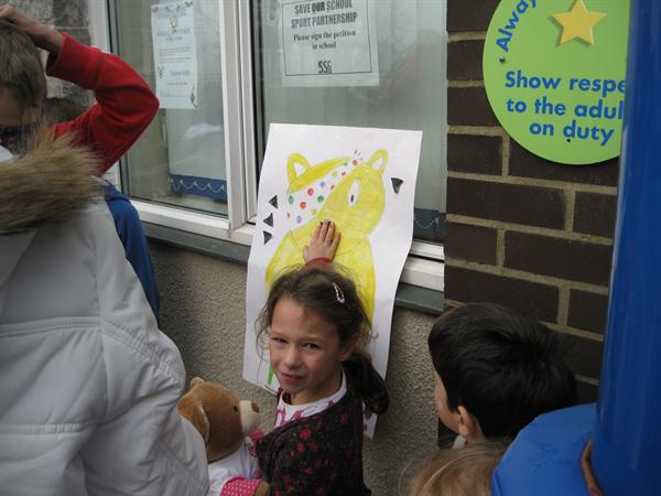 Children In Need - Pin the nose on the Pudsey!