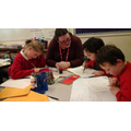 St Anthony's class working hard in MATHS