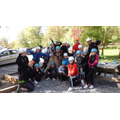 9.5.17:  Group photo before the high ropes