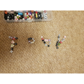 Toby made his name using beads
