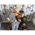 Harry and Isla found lots of animals on their safari