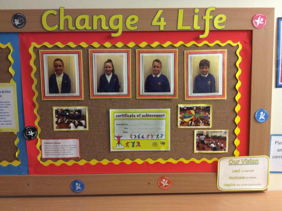 Change 4 Life Team - Healthy living