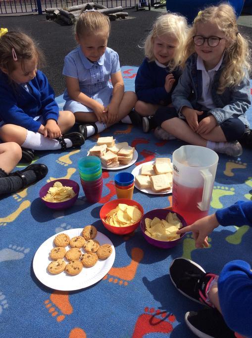 Outdoor picnic!
