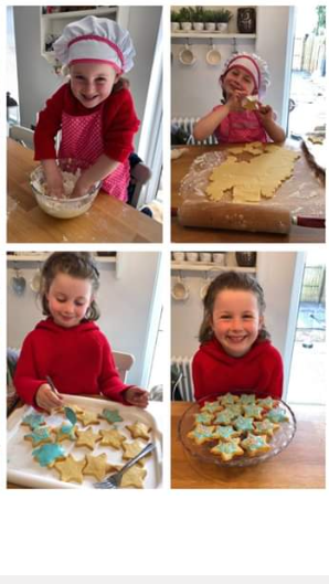 Phoebe's Sparkling Star Biscuits