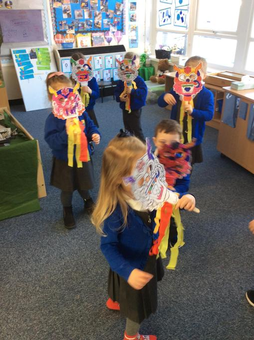 Our dragon dance.