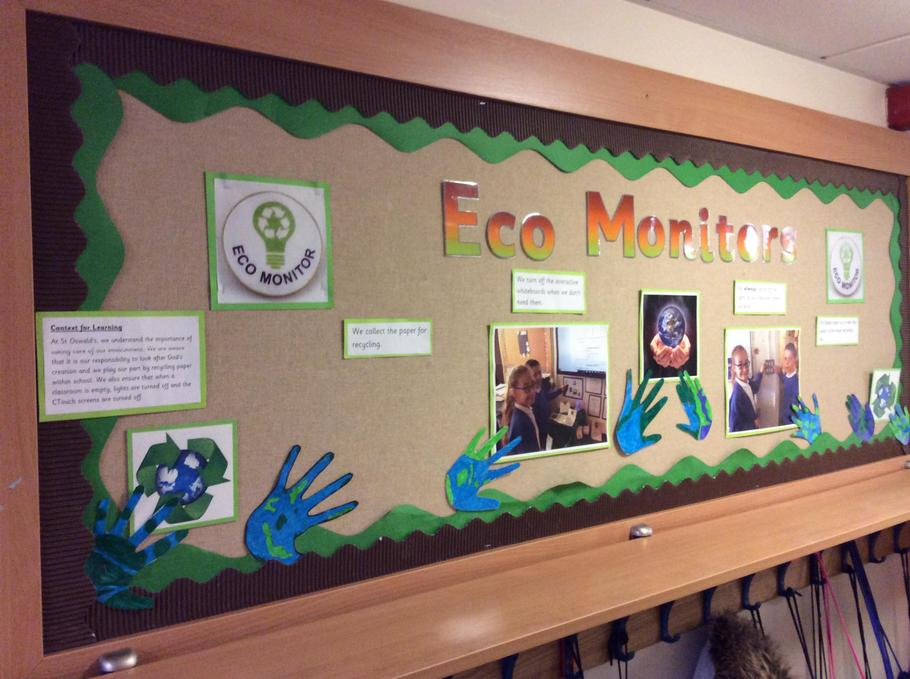 Year 5 Eco Monitors - Creative Curriculum