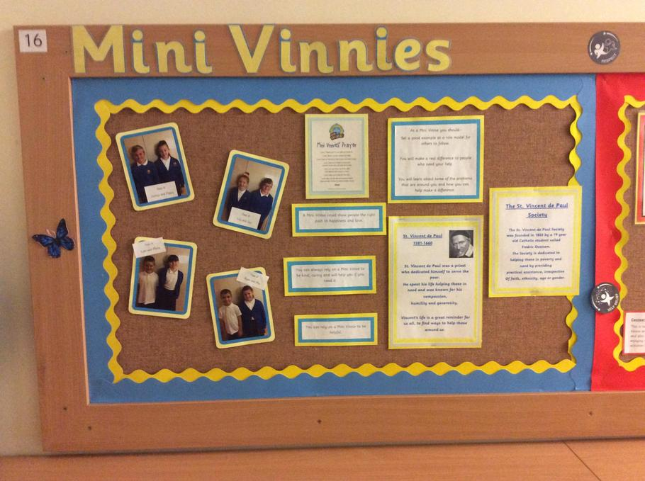 Meet our Mini Vinnies Team