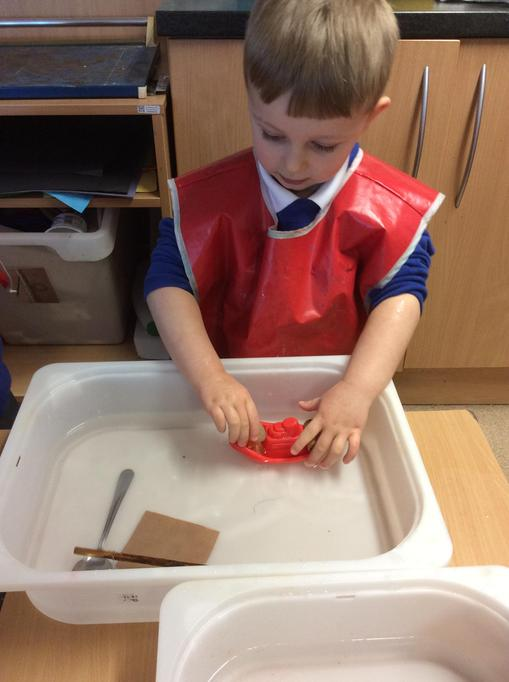 Freddie tried to make his boat sink.