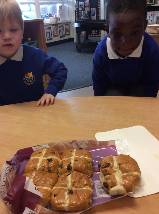 We tasted Hot Cross Buns