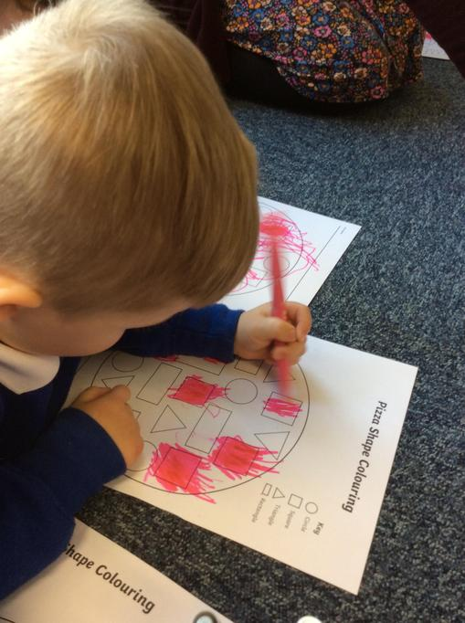 Lovely colouring Freddie.