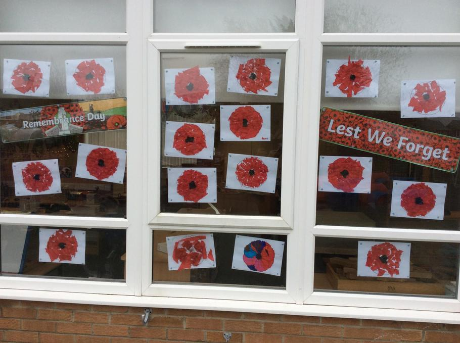 Our Poppy Display
