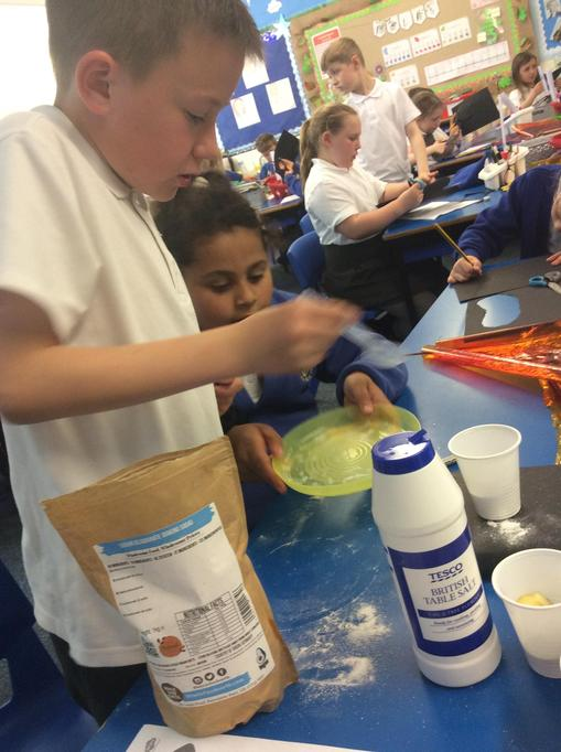 We have been studying Ancient Egypt and have experimented with mummifying apples.