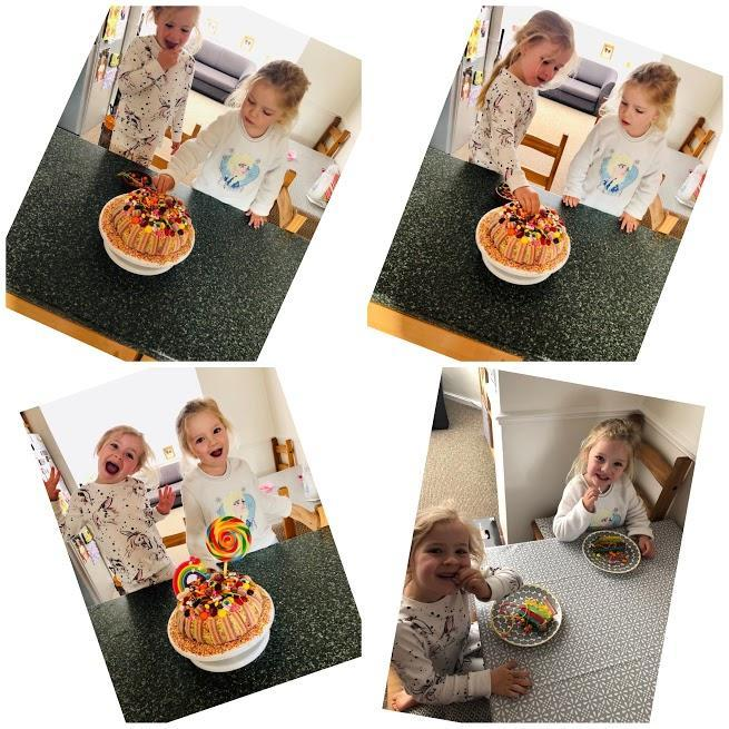 Carys and Seren's Hanzel and Greatl Cake!