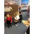 Dancing to Zara's favourite song!