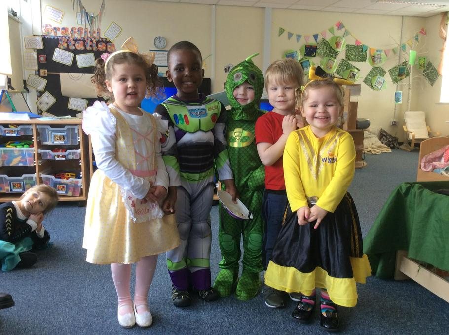 Our favourite book costumes!